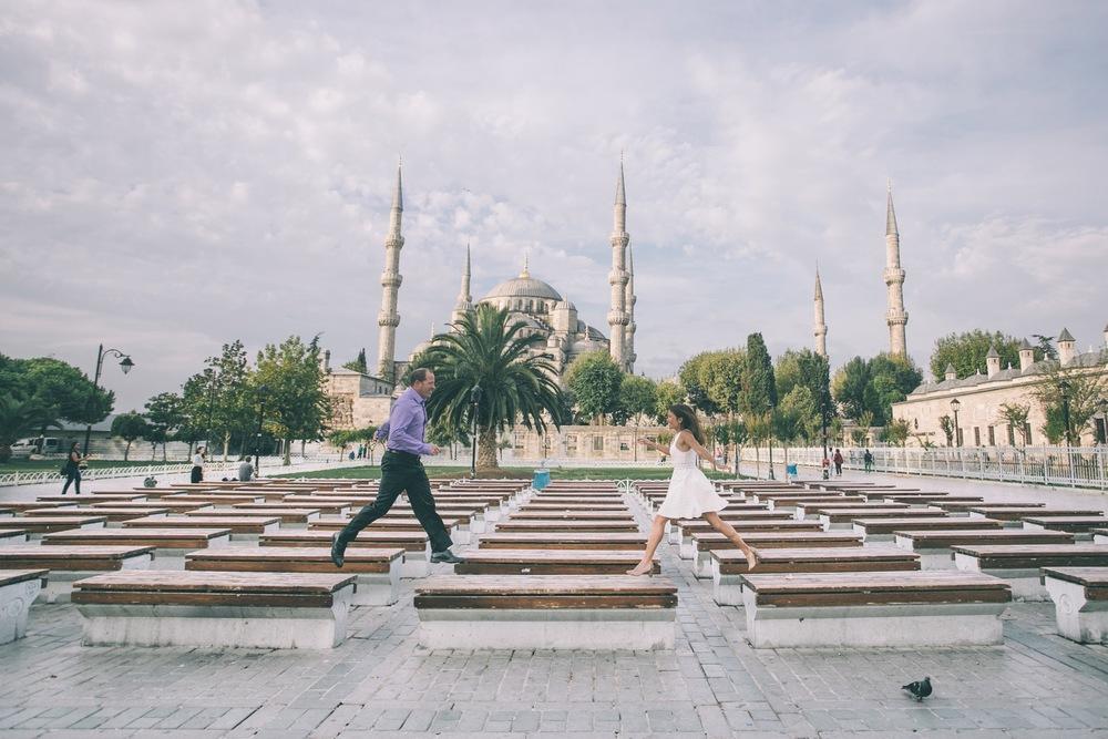 Flytographer: Ufuk in Istanbul