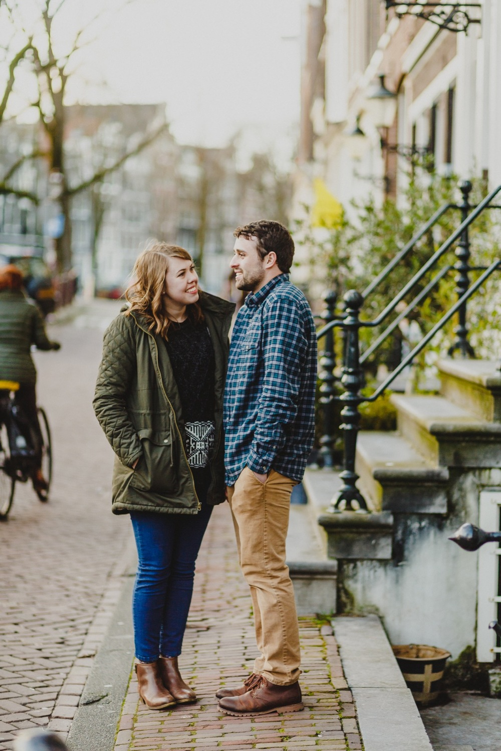 HIgh School Sweetheart Honeymoon in Amsterdam | Amsterdam Vacation Photographer