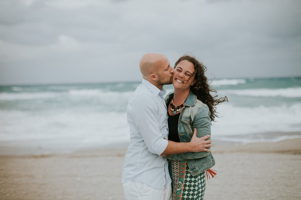 A Windswept South Beach Surprise Proposal | Miami Proposal Photographer