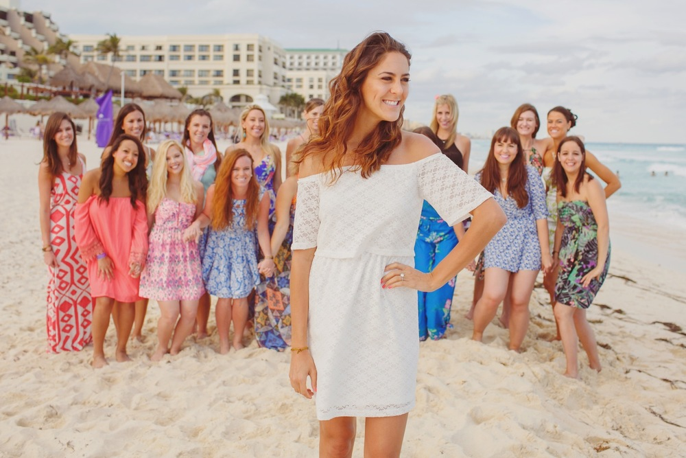 How She Bached - 'How He Asked' Founder Stacy Tasman's Bachelorette Shoot in Cancun! | Cancun Vacation Photographer