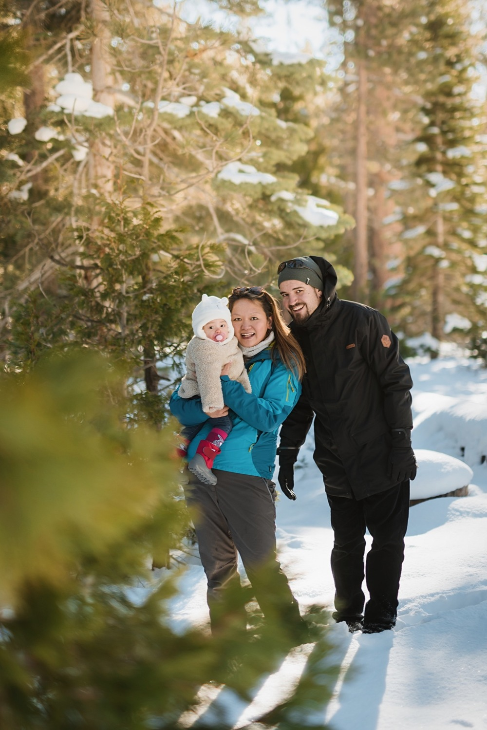A Family Retreat in Snowy Lake Tahoe | Lake Tahoe Vacation Photographer