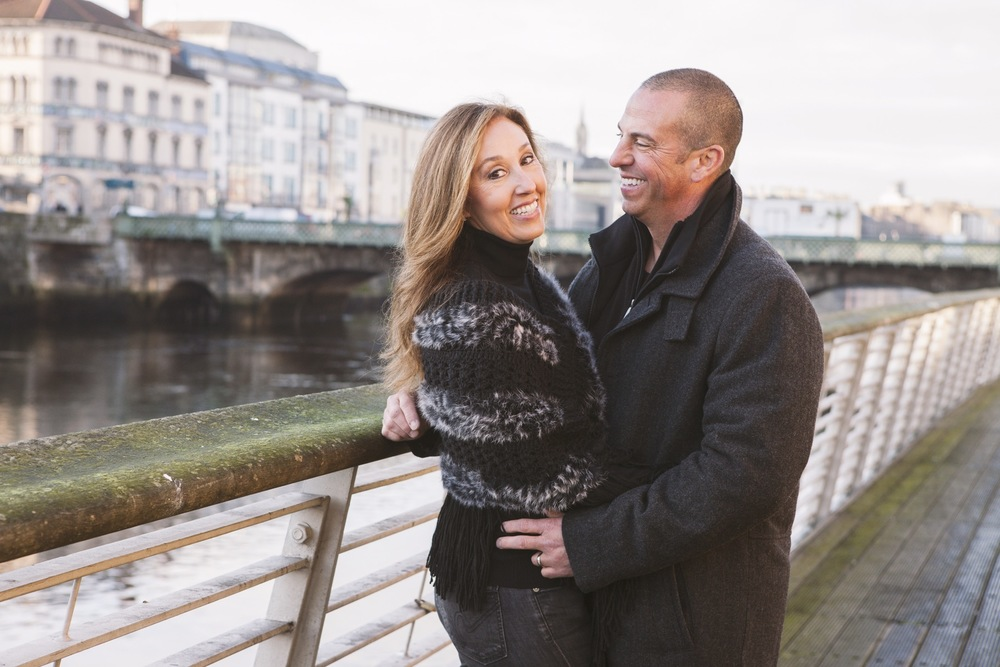Anniversary Romance in Dublin | Dublin Vacation Photographer
