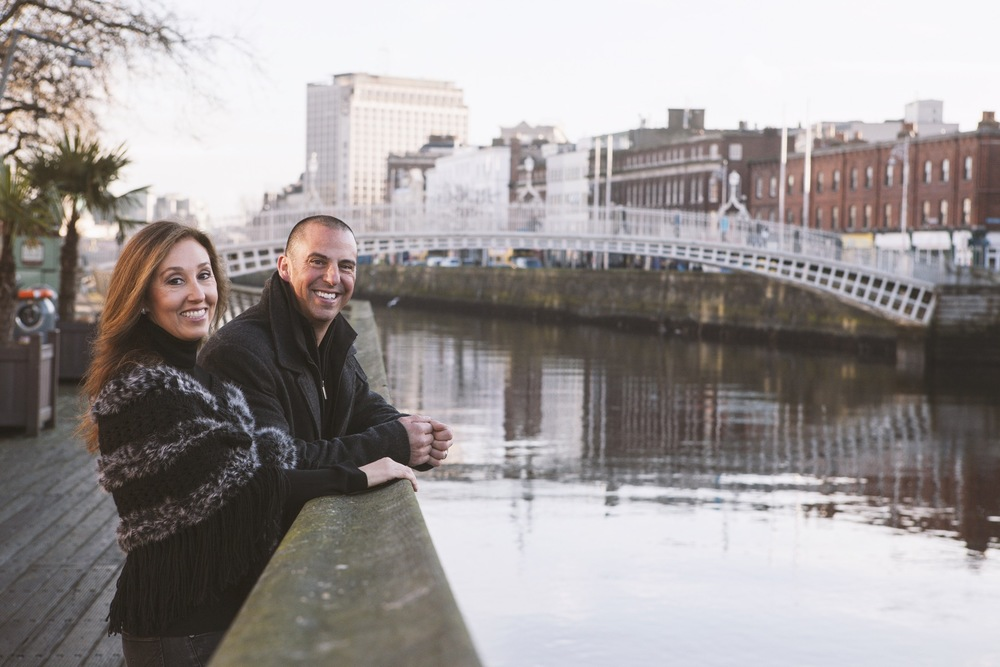 Anniversary Romance in Dublin | Dublin Vacation Photographer