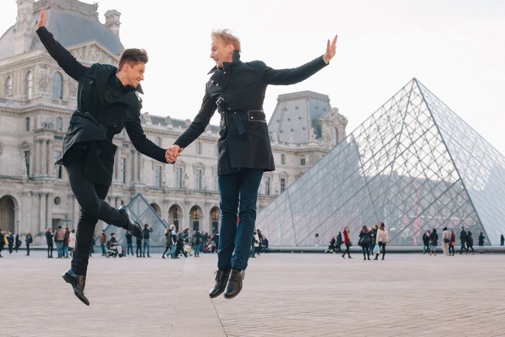 A Perfect Parisian New Years Eve Proposal | Paris Proposal Photographer