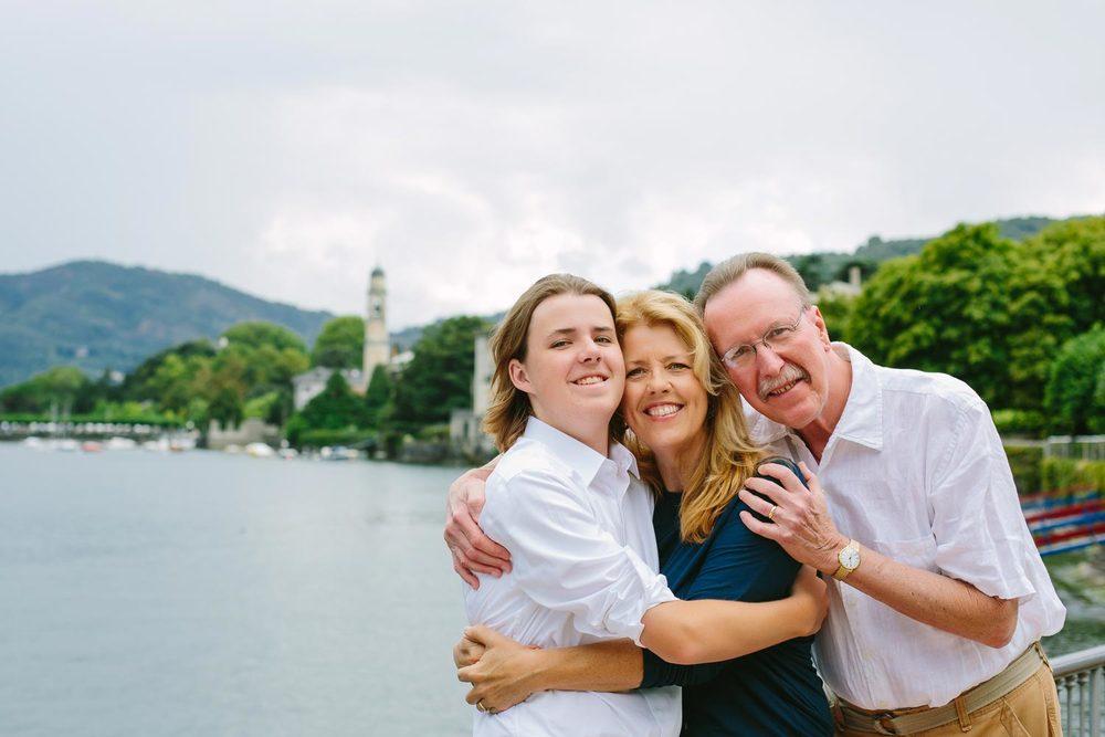 Flytographer: Marian in Lake Como
