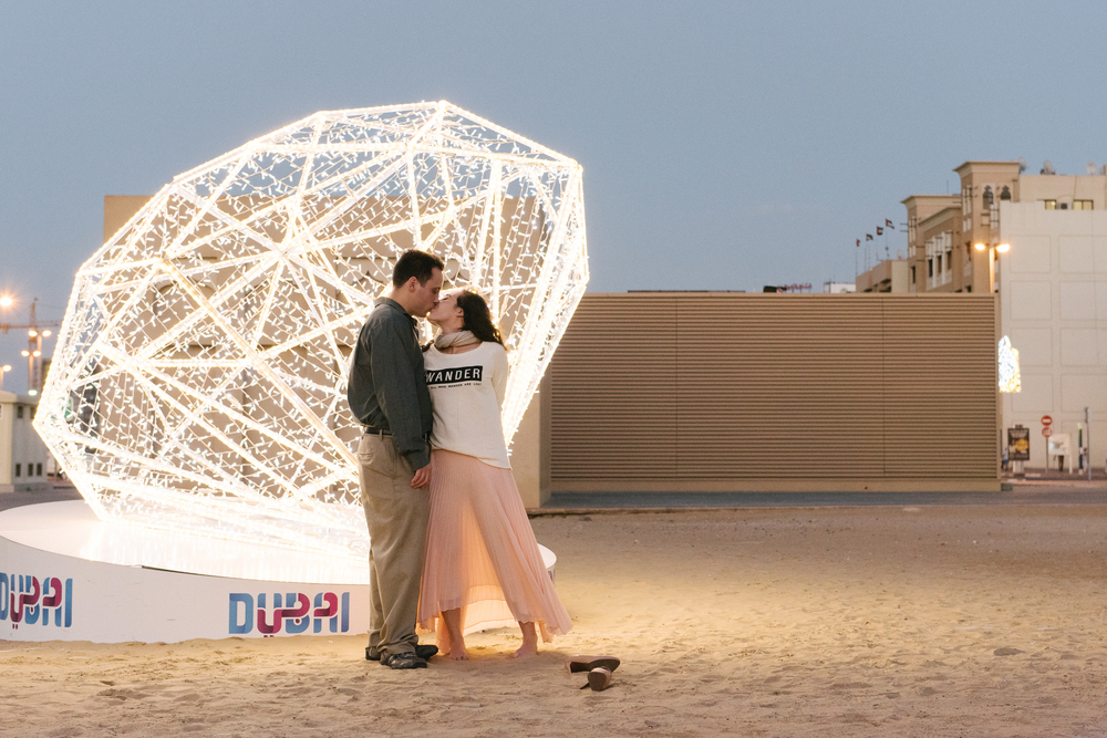 Flytographer in Dubai.