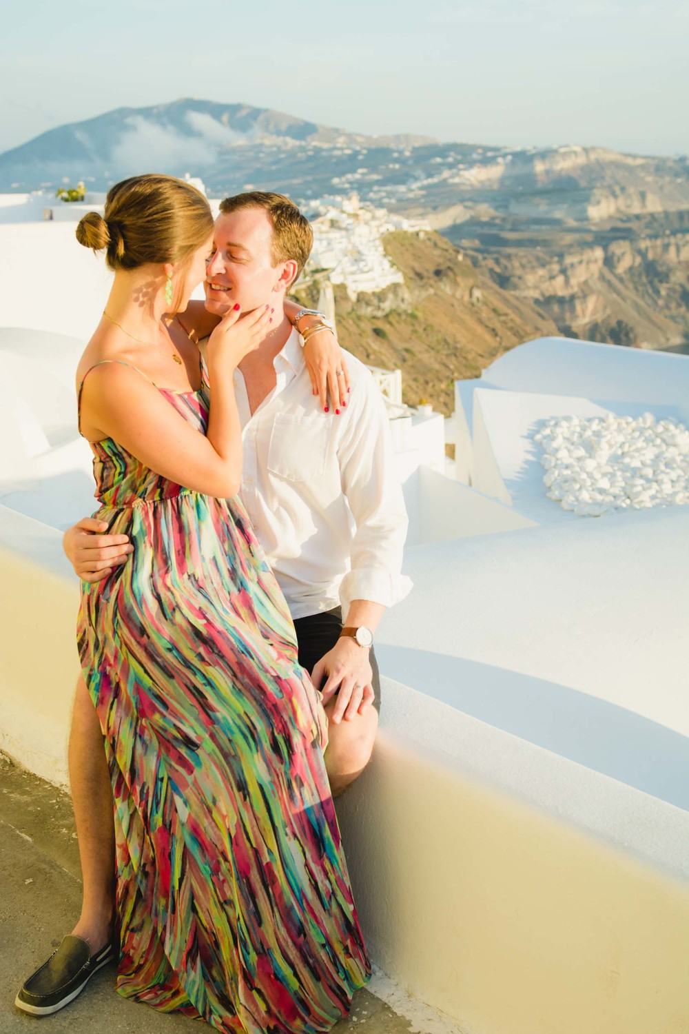 santorini honeymoon photographer