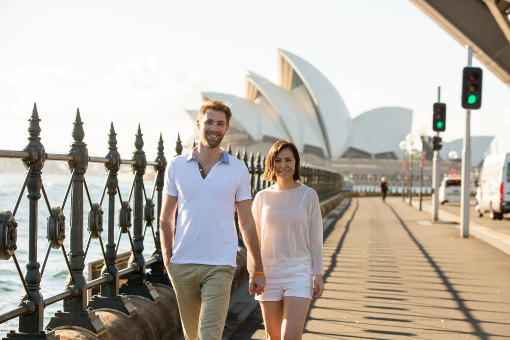 FLYTOGRAPHER | Sydney Vacation Photographer - Sarah & Stephen