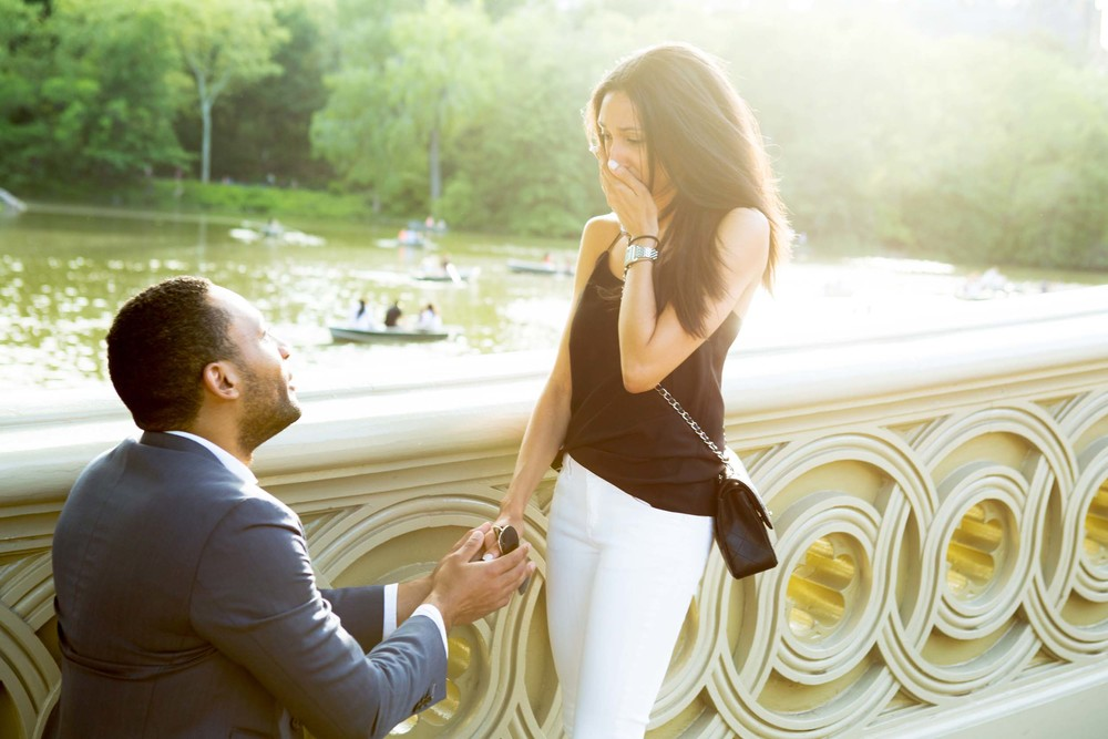 Central Park proposal photographer