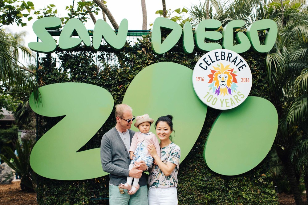 San Diego Zoo vacation photographer