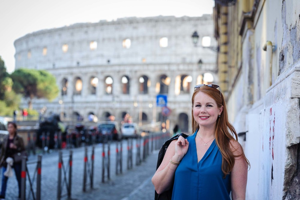 Rome solo travel vacation photographer