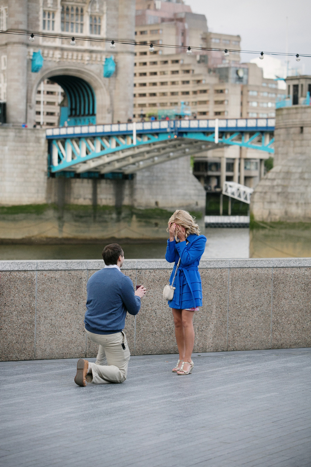 Tower Bridge Proposal. London Photographer