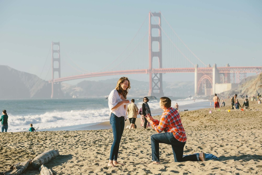 San Francisco proposal photographer