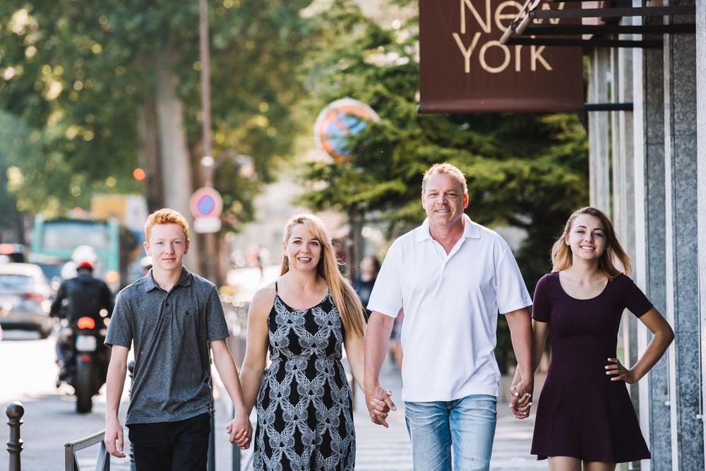 European family vacation photographer