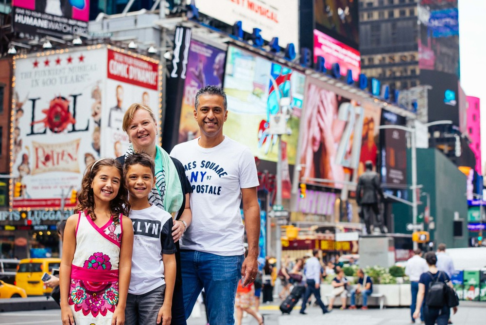 NYC family vacation photographer