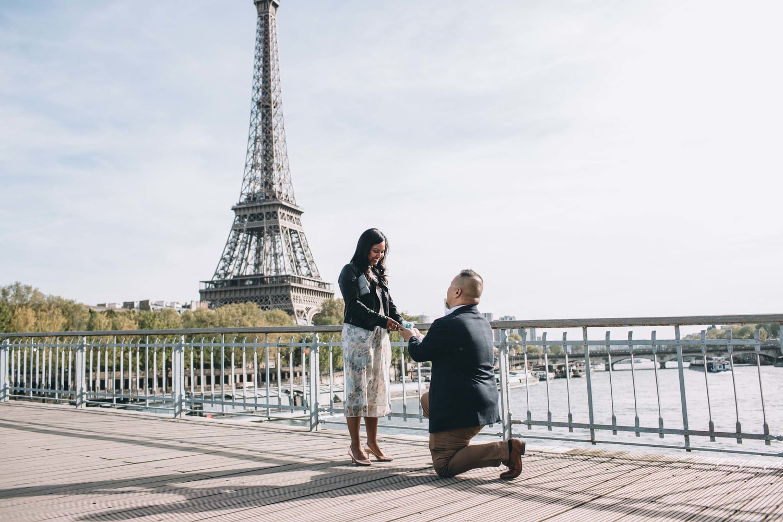 A Parisian Tiffany & Co. Proposal