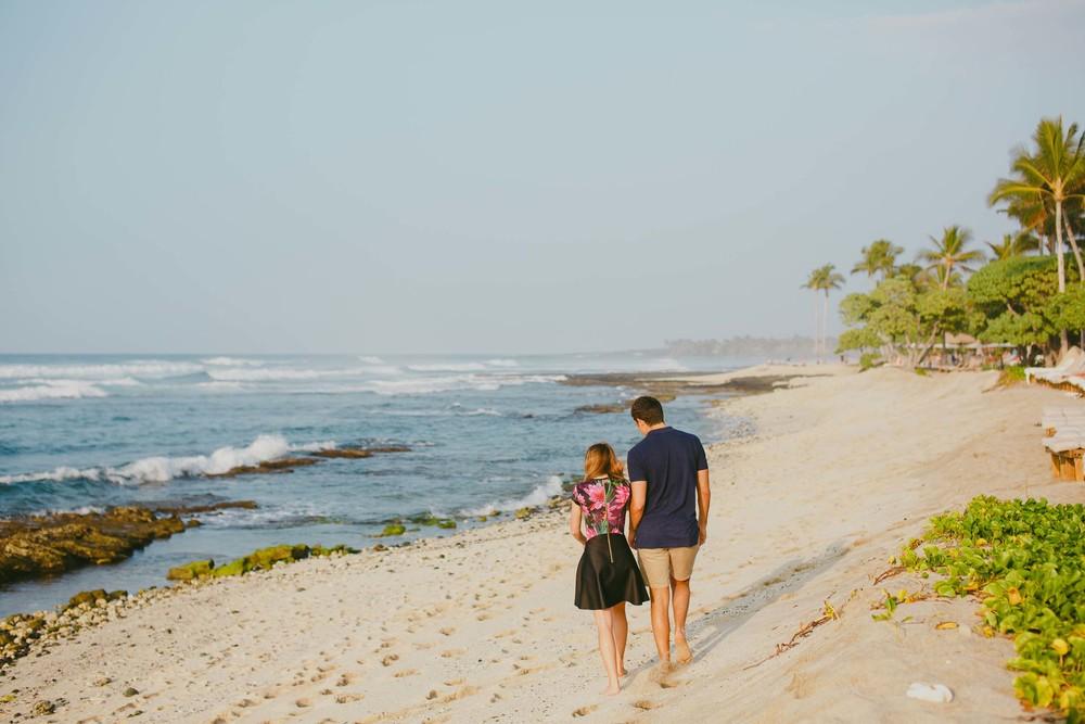 Flytographer: Kris & Sandra in Kona