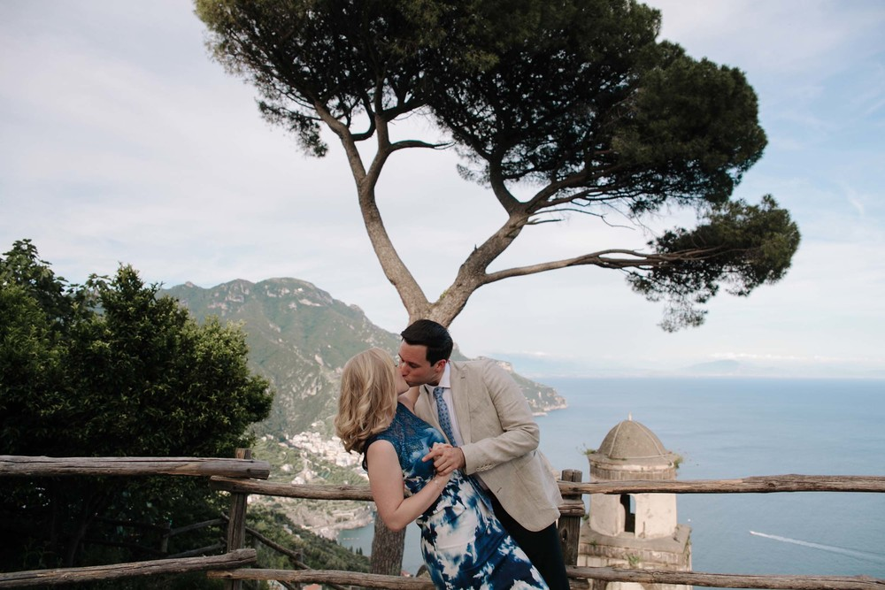 Amalfi Coast proposal photographer