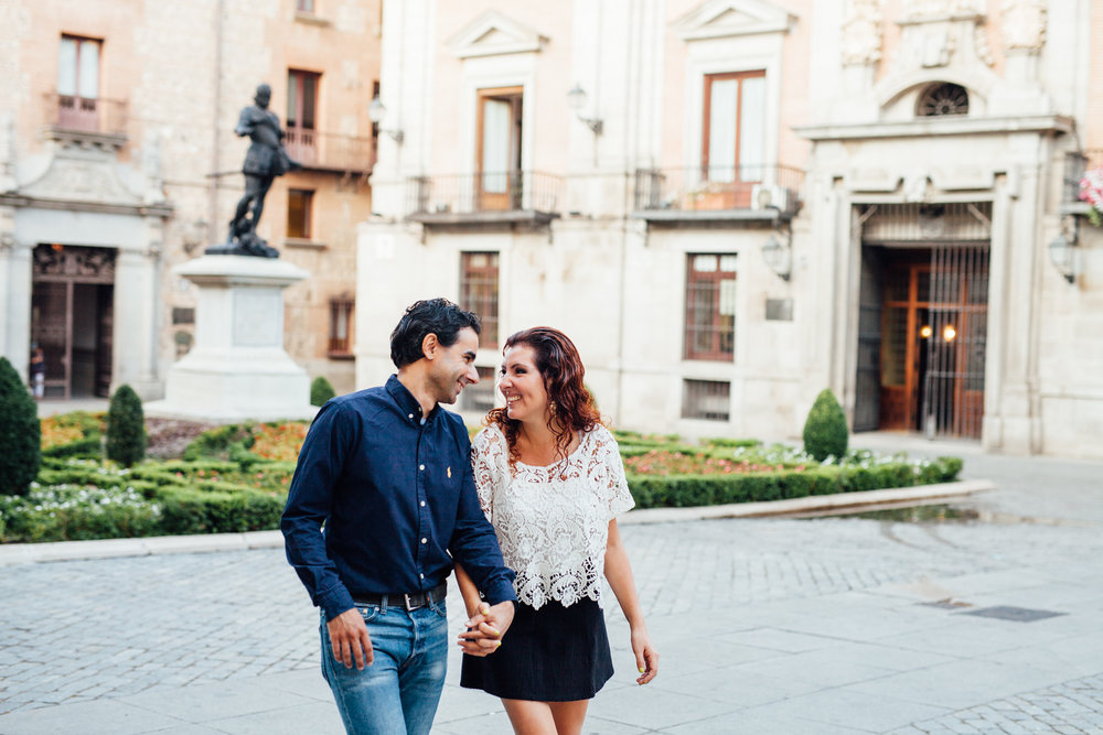 FLYTOGRAPHER | Madrid Vacation Photographer - Julia
