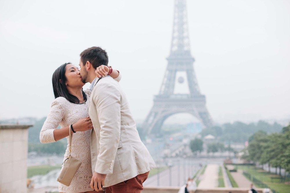 Paris proposal photographer