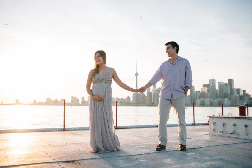 Toronto babymoon photographer