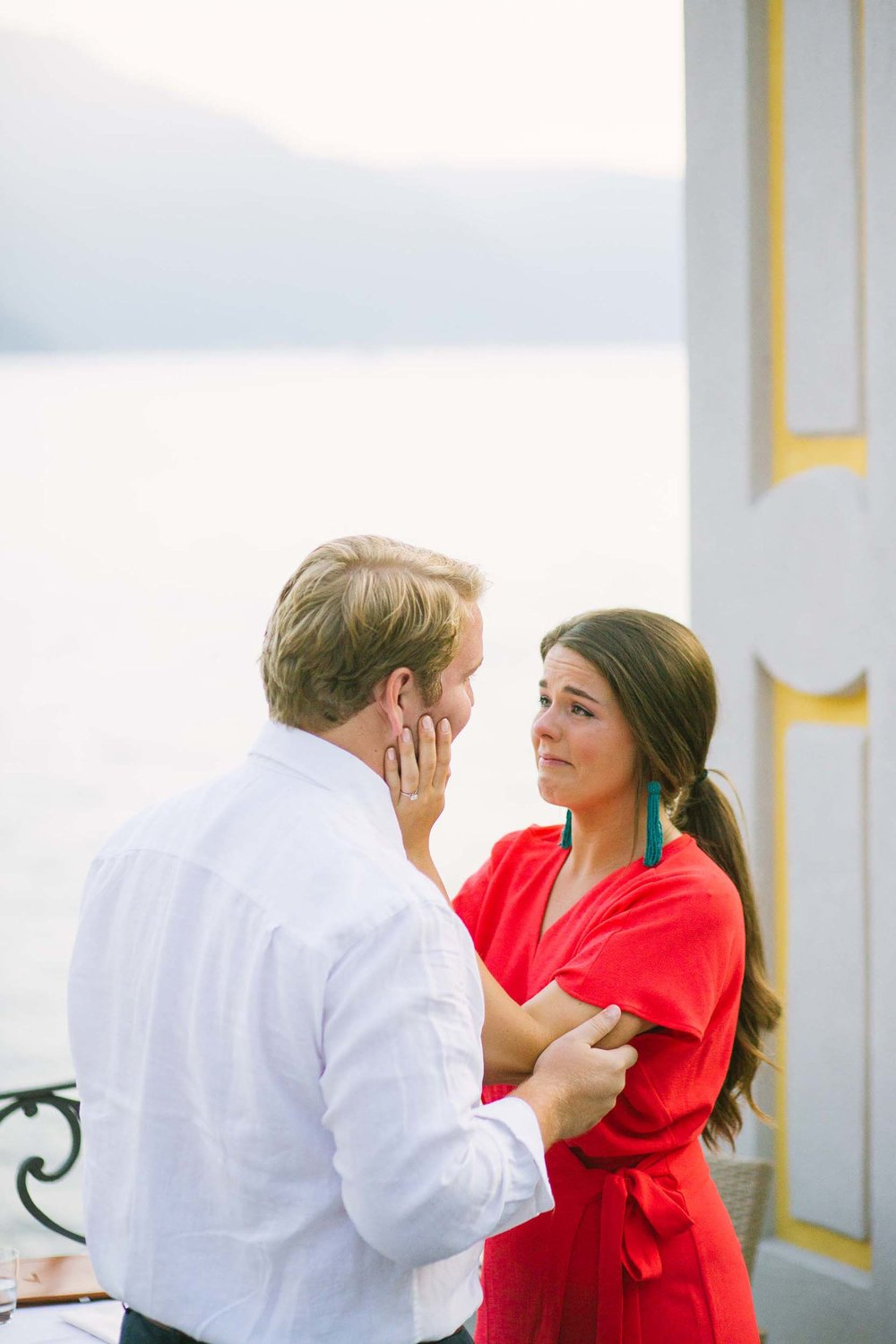 Lake Como proposal photographer