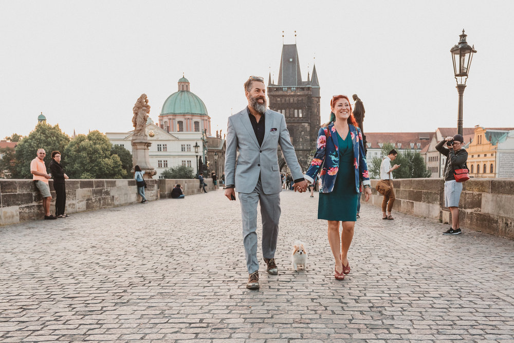Charles Bridge Proposal Photographer