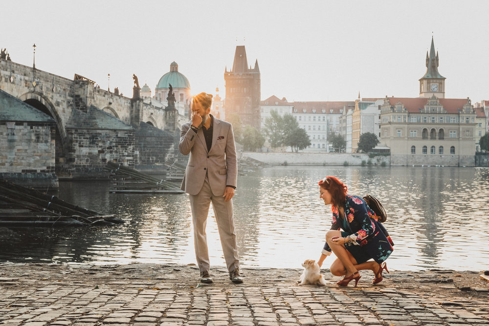 Prague Proposal Photography