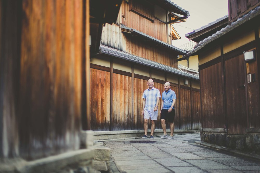Kyoto vacation photographer
