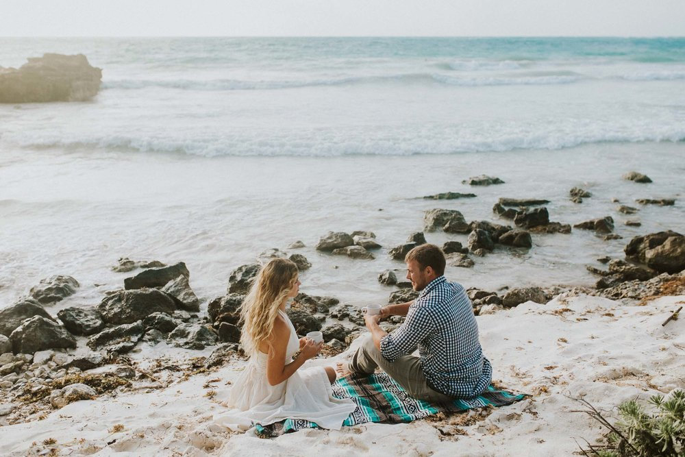 Tulum proposal photographer