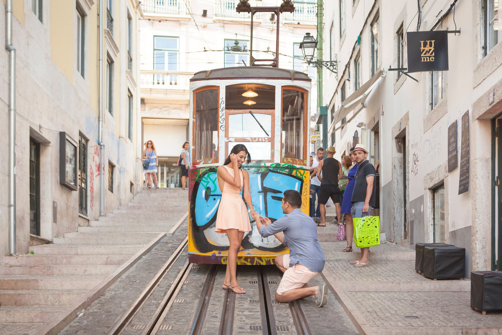 Ana Lucia in Lisbon for Flytographer