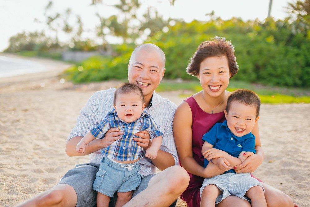 Honolulu family vacation photographer