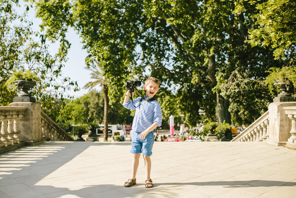 barcelona family vacation photographer flytographer