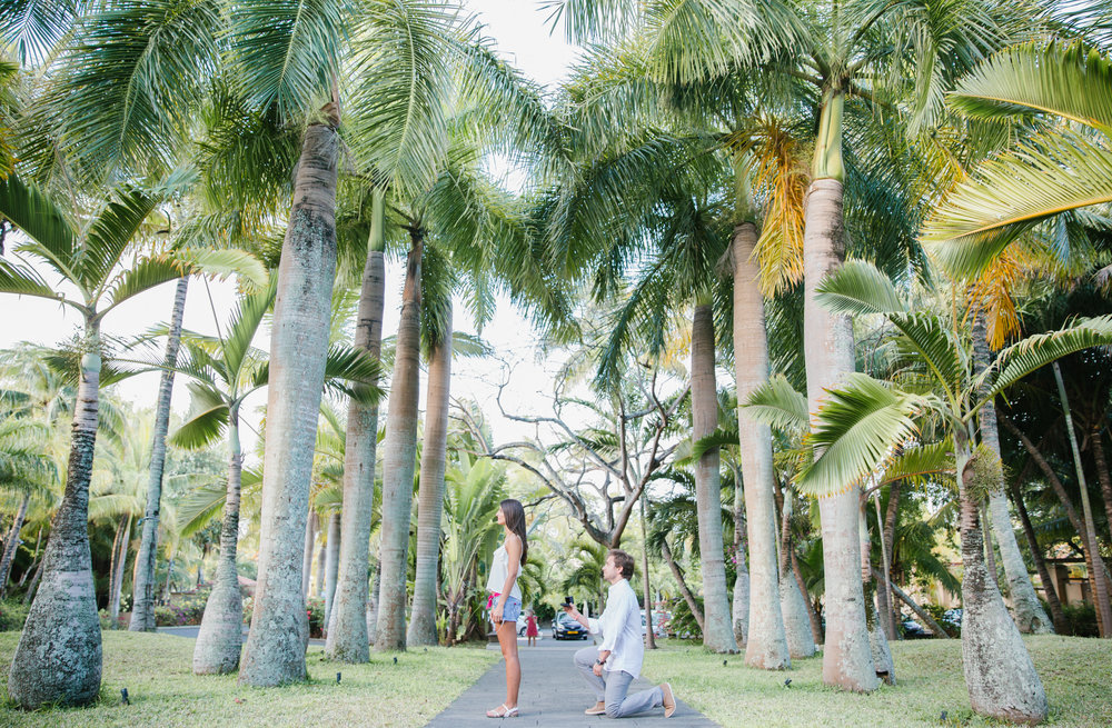 mauritius proposal photographer flytographer