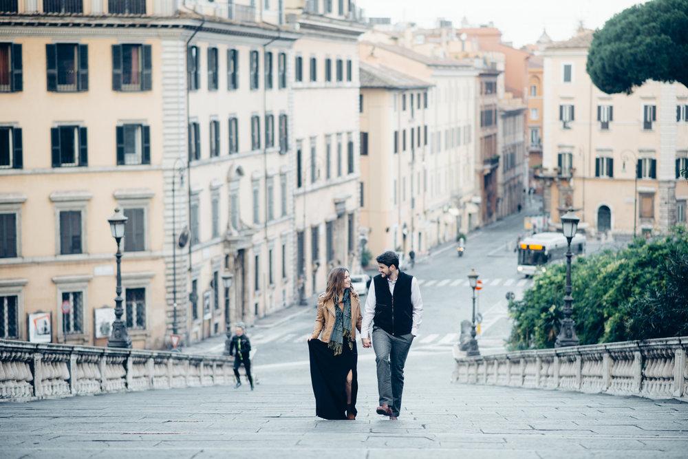 rome honeymoon photographer flytographer