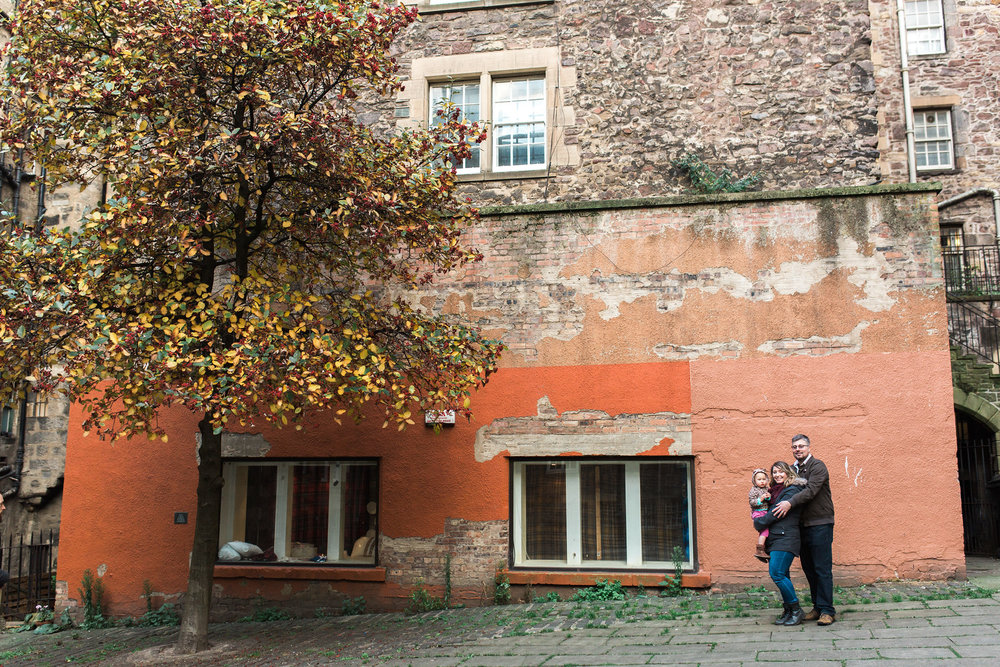 Flytographer Vacation Photographer in Edinburgh - Chantal & Scott