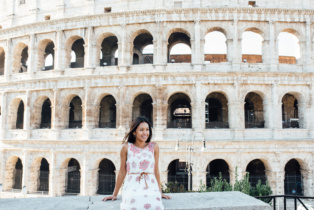 Flytographer Vacation Photographer in Rome - Roberta