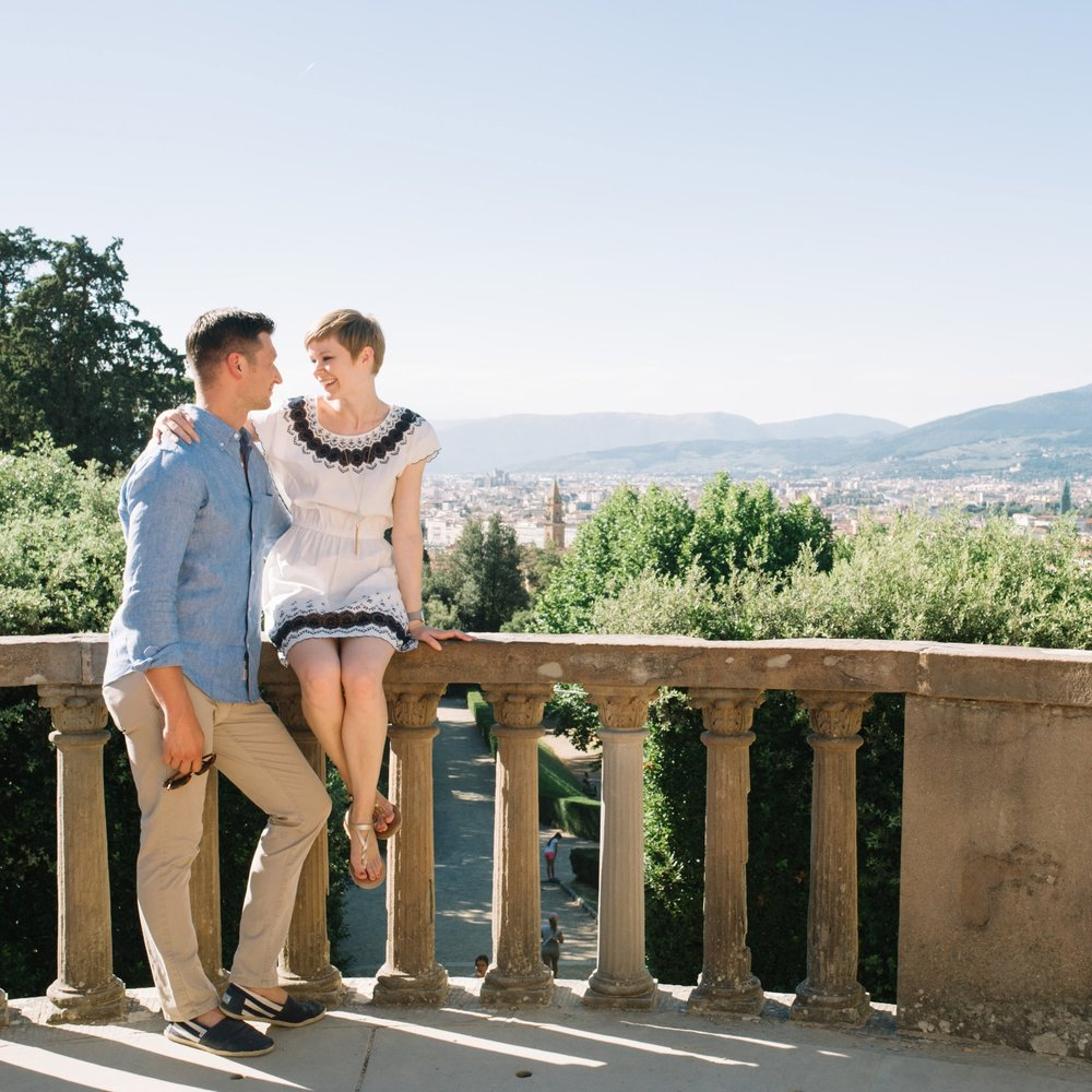 Flytographer Alice in Florence