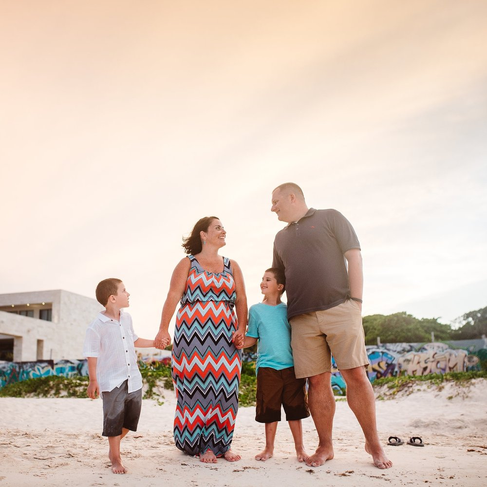 Flytographer Conie in Playa del Carmen