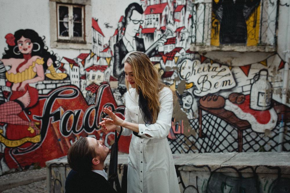 Lisbon Proposal Photographer Flytographer