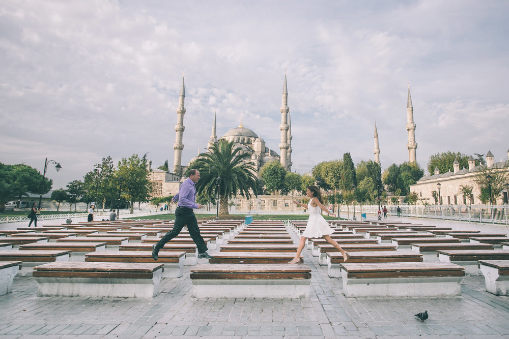 Photo: Ufuk in Istanbul