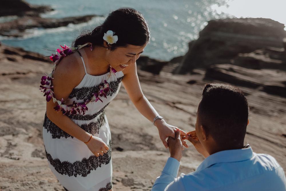 hawaii proposal photographer