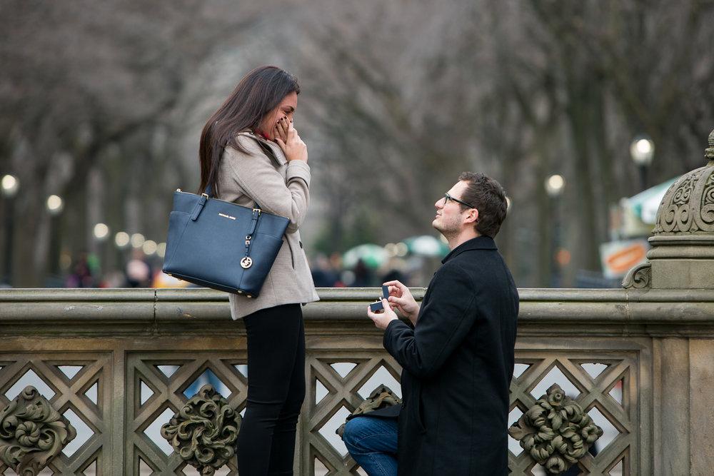 NYC proposal photographer