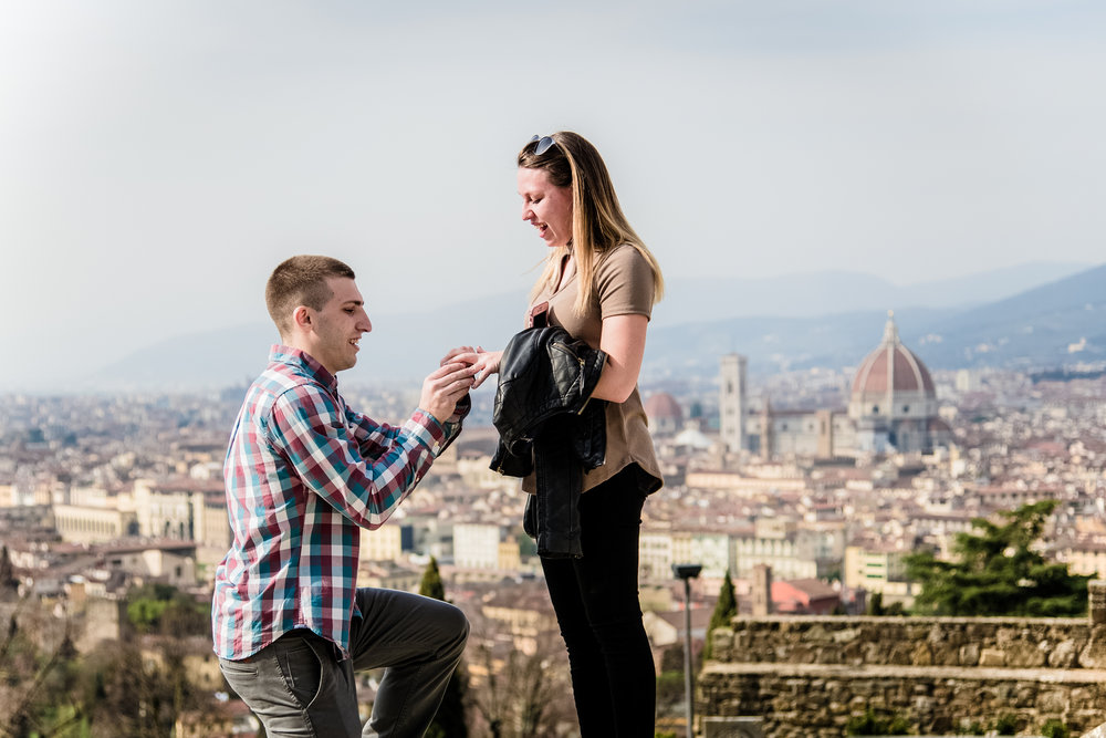 Florence Proposal Photographer