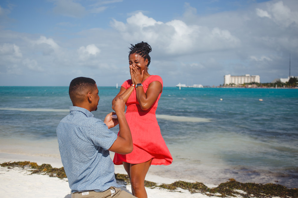 Cancun proposal photographer