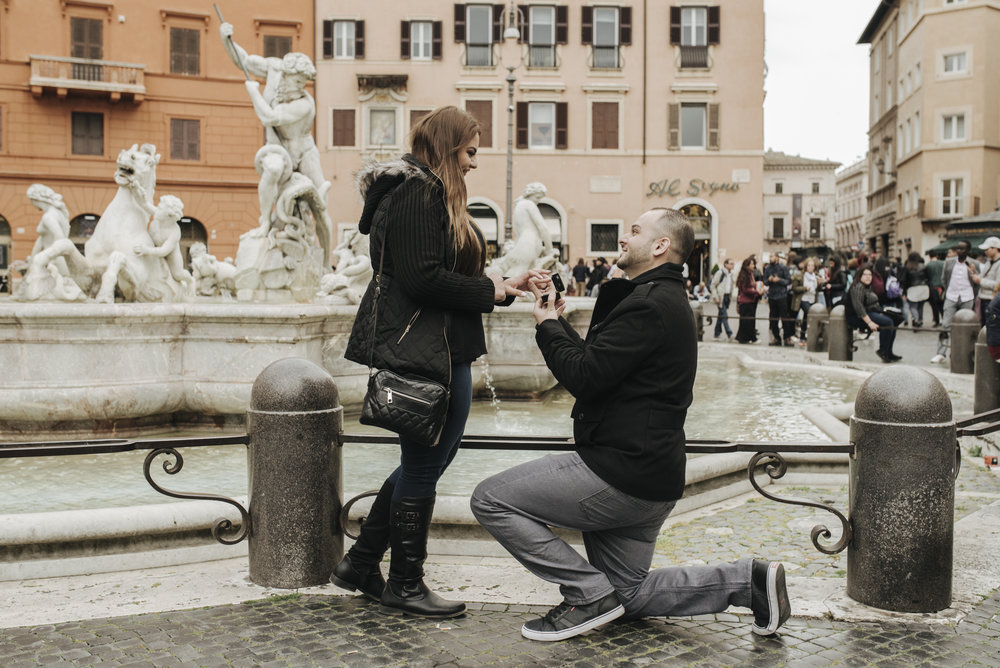 rome proposal photographer