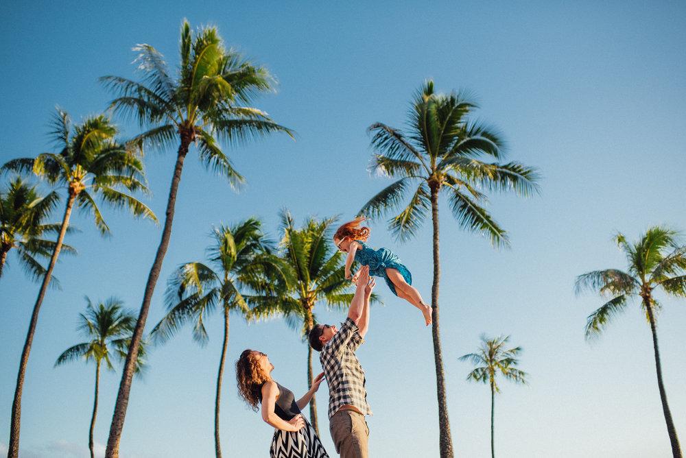 Flytographer Chelsea in Honolulu