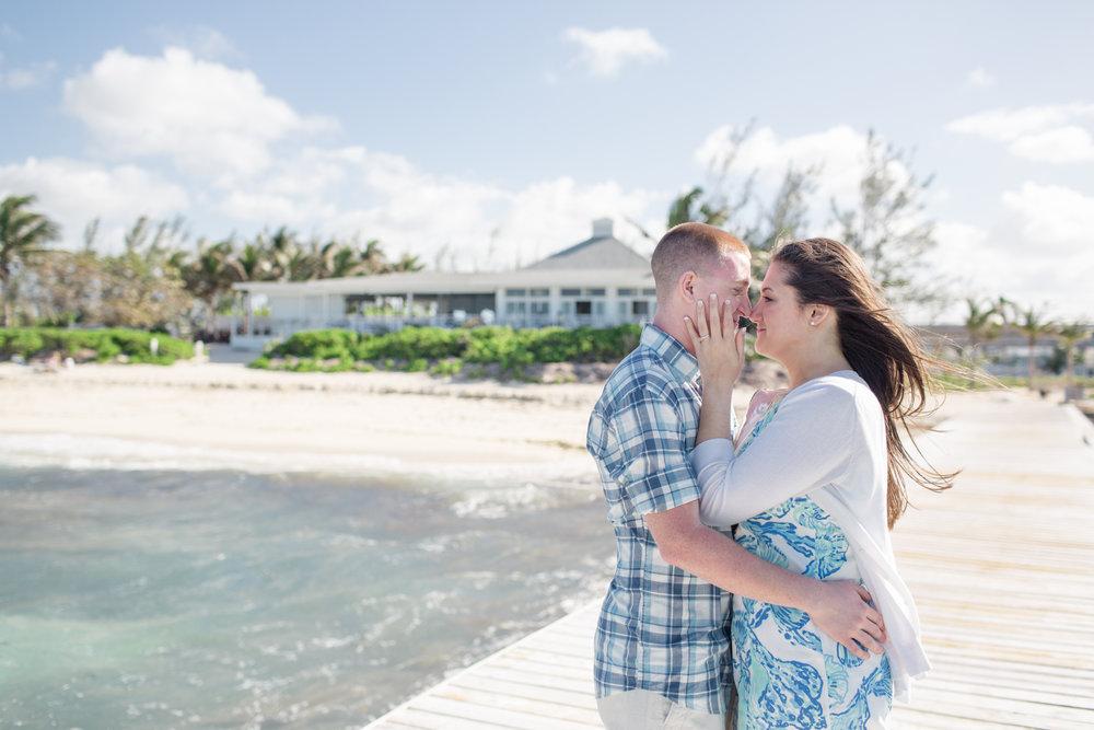 Nassau, Bahamas Proposal Photographer - Flytographer