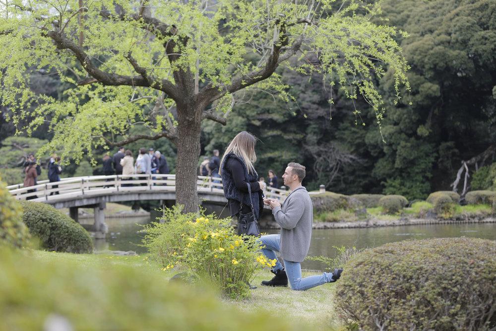 Tokyo, Japan Proposal Photographer - Flytographer