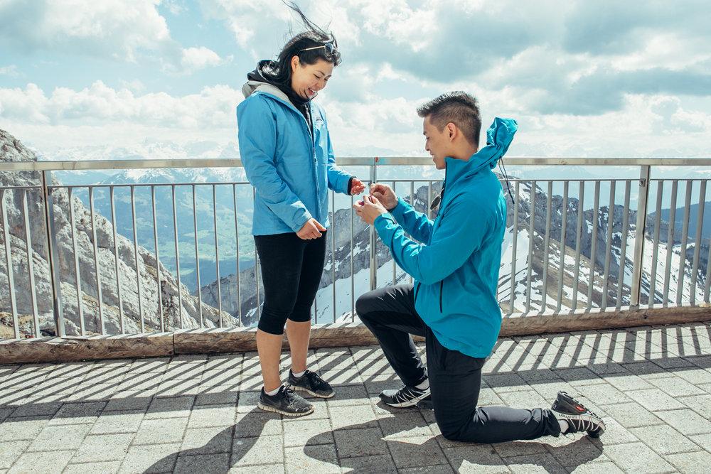Zurich, Switzerland Proposal Photographer - Flytographer